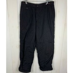 Tommy Hilfiger Black Sz 36 Convertible Pants